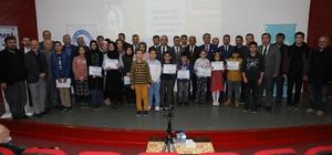 Derece yapan öğrencilere ödülleri verildi