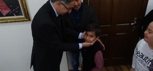 Havran Kaymakamı ve İlçe Milli Eğitim Müdürüne özel 23 Nisan ziyareti