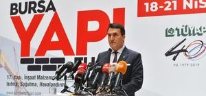 """Dündar'dan özel sektöre kentsel dönüşüm çağrısı Dündar: """"Dönüşümde Bursa'nın merkezi hedef alınmalı"""""""