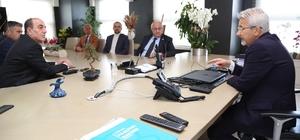 CHP ve İYİ Parti'den Turgay Erdem'e tebrik ziyareti