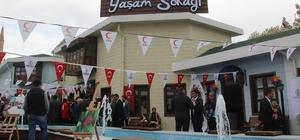 Davullu zurnalı yaşam sokağı açılışı gerçekleşti Şanlıurfa'da sosyal yaşam sokağı açıldı