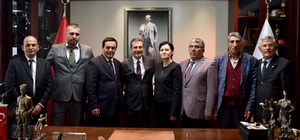 Gündoğan'dan Ataç'a hayırlı olsun ziyareti