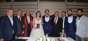 Başkan Fatih Atay ilk nikahını kıydı