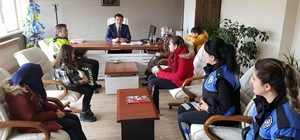 Şehit çocuklarından İl Emniyet Müdürlüğüne ziyaret