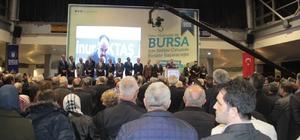 Başkan Aktaş binlerce Bursalı ile bir araya geldi Bursa'da Ali Nur Aktaş'ın düzenlediği teşekkür buluşmasına binlerce vatandaş katıldı