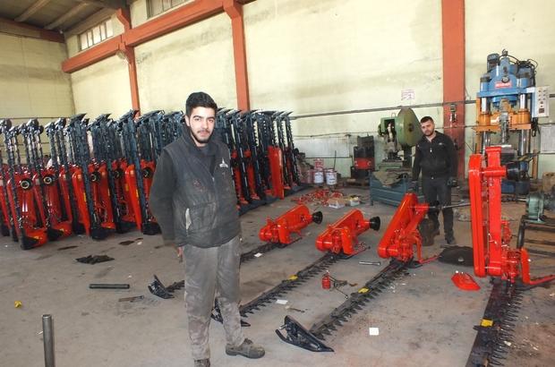 Malazgirt'ten yurt dışına tarım aletleri ihracı