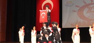 Mersin'de 23 Nisan coşkusu TBMM'nin kuruluşunun 99'uncu yılı ve 23 Nisan Ulusal Egemenlik ve Çocuk Bayramı, Yenişehir Atatürk Kültür Merkezi'nde düzenlenen törenle coşkuyla kutlandı Rengarenk boyalı yüzleri, ellerinde Türk bayraklarıyla bayram coşkusu yaşayan çocuklar, sergiledikleri gösterilerle de renkli görüntüler oluşturdular