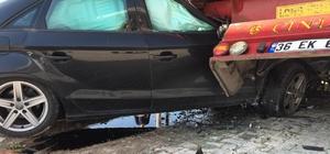Yoldan çıkan otomobil işe gitmek için araç bekleyen inşaat işçisini öldürdü