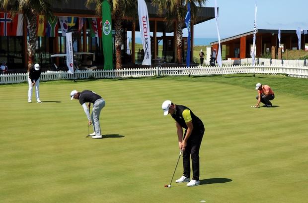 200 bin Euro'luk golf turnuvasında heyecan devam ediyor