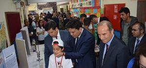 Arguvan'da TÜBİTAK 4006 Fuarı