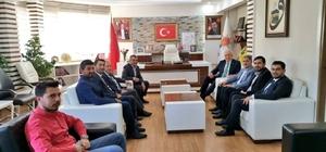"""Milletvekili Kahtalı'dan teşkilata teşekkür ziyareti Kahtalı: """"Büyük bir başarı elde ettik"""""""