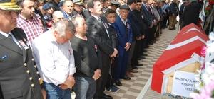 Kıbrıs Gazisi Karagöz son yolculuğuna uğurlandı