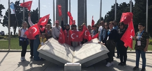 Aliağa'dan bugüne kadar 14 bin kişi şehitlikleri ziyaret etti