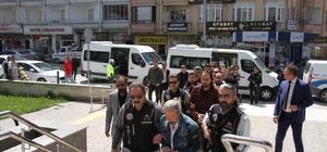 FETÖ'nün Çorum'daki yeni il yapılanmasına yönelik operasyonda 8 tutuklama