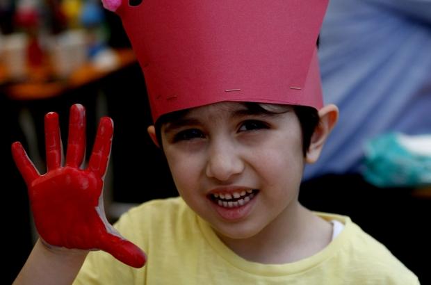 Miniklerin Okul öncesi şenliği Renkli Görüntülere Sahne Oldu