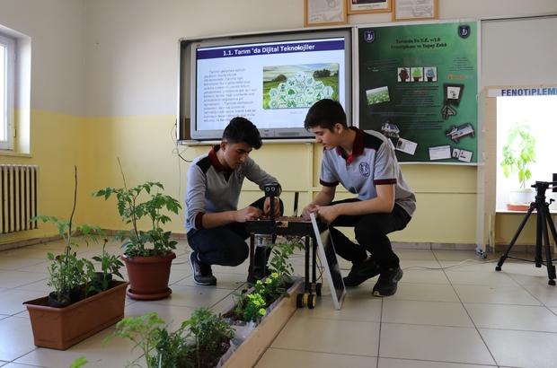 """Öğrenciler, tarım amaçlı """"Yapay Zeka"""" sistemini geliştirdi Bingöllü öğrenciler geliştirdikleri projeyle Türkiye 2'incisi oldu"""