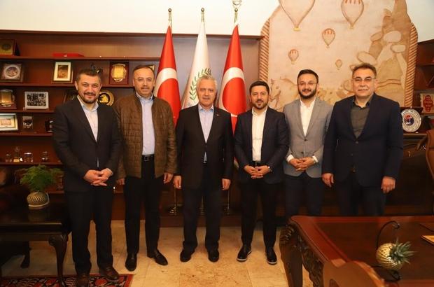 AK Parti milletvekilleri Ataş ve Turan, Başkan Arı'yı ziyaret etti