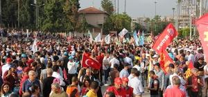 Mersin'de 1 Mayıs coşkusu