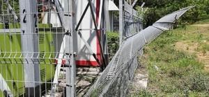 Baz istasyonu hırsızları yakalandı