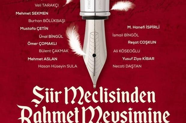 TYB Erzurum Şubesi'nin programında Erzurum Protokolü şiir okuyacak