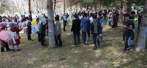 Atatürk Üniversitesinde ağaçlar kitap açtı
