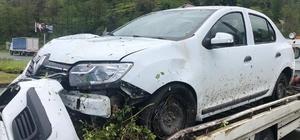 MHP MYK üyeleri Rize'de kaza yaptı: 3 yaralı