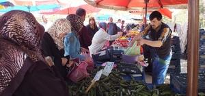 Ramazan öncesi pazarda fileler doldu taştı
