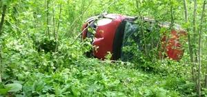 Gece sürücünün öldüğü kaza sabah fark edildi
