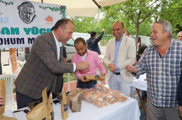 Turgutlu'da Yerli Tohum Takas Festivali büyük ilgi gördü