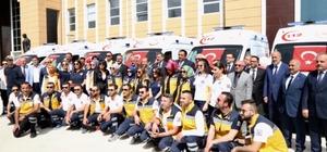 Sağlık Bakanlığından Çorum'a 10 ambulans