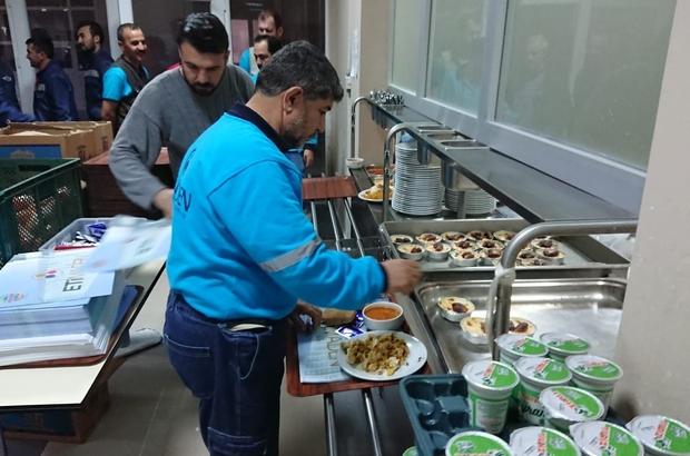 Eti Maden Kırka Bor çalışanlarından ilk iftar