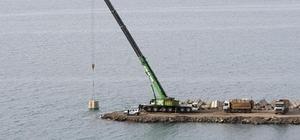Denizkonak Balıkçı Barınağı'nda, yüzde 70 fiziki gerçekleşme tamamlandı Cide'de Denizkonak Balıkçı Barınağı'nda çalışmalar hız kazandı