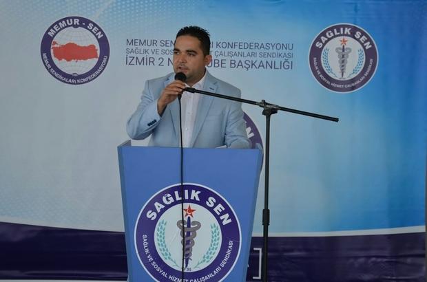 """Özdemir: """"3600 Ek Gösterge tüm sağlık çalışanlarını kapsamalıdır"""""""