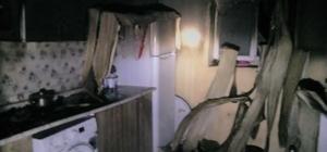 Özalp'ta ev yangını