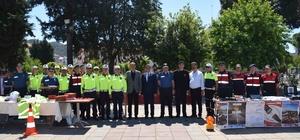 Ortaca'da Karayolu Trafik Güvenliği Haftası etkinliği