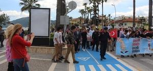 Turizm haftası kutlamalarına yabancılar damga vurdu Marmaris'te Trafik Haftası, kutlamalarına yabancı turistler de ilgi gösterdi