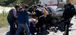 Muğla'da kaza: 2 yaralı Muğla'nın Kavaklıdere ilçesinde meydana gelen trafik kazasında araç içinde sıkışan 2 kişi İtfaiye ekiplerinin müdahalesi kurtarıldı.