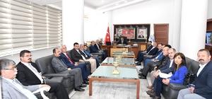 Başkan Gürkan, CHP Heyetini kabul etti