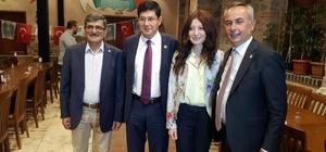 İYİ Parti Gençlik Kolları Genel Başkanı Burak Öztürk Nazilli'de iftara katıldı