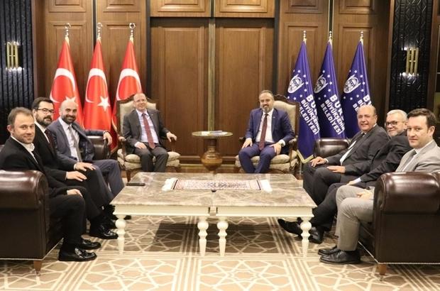 """Başkan Aktaş: """"Tarım ile ilgili yapacağımız her çalışmada BTB ile ortak adım atacağız"""""""