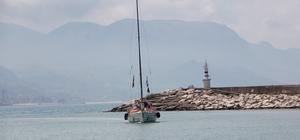 Barış için yelken açan kadınlar, Kastamonu'ya ulaştı Bodrum'dan Samsun'a yelkenli yatla açılan 6 kadın denizci Kastamonu'da