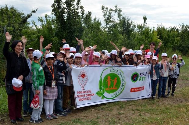 Aydın'da öğrenciler Tarım Kampı'na katıldı
