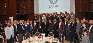 """Kastamonulular İstanbul'da iftarda buluştu Başkan Vidinlioğlu: """"Kendir'in yan sanayisi için işadamlarımızı Kastamonu'ya bekliyoruz"""""""