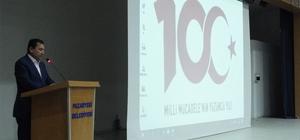 """Pazaryeri'nde """"100. Yıl ve Gençlik"""" konulu seminer düzenlendi"""
