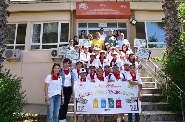 Antalya'da 'Lider Çocuk Tarım Kampı' başladı