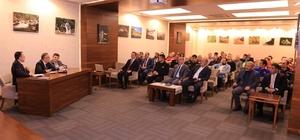 Rize Valisi Kemal Çeber, arama-kurtarma ekipleri ile bir araya geldi