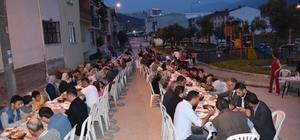 Eşref Dinçer mahallesinde iftar buluşması