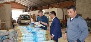 Kırıkkale'de çiftçilere 3,5 ton yonca tohumu dağıtıldı