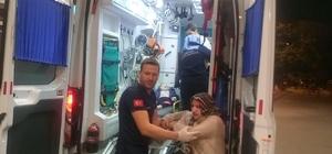 İnegöl'de 5 katlı binada yangın çıktı Dumanlardan etkilenen 3'ü çocuk 14 vatandaş hastaneye kaldırıldı