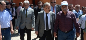 """Başkan Hilmi Güler: """"Heyelan sonucu vatandaşlarımız hiçbir şekilde mağdur olmayacaklar"""""""